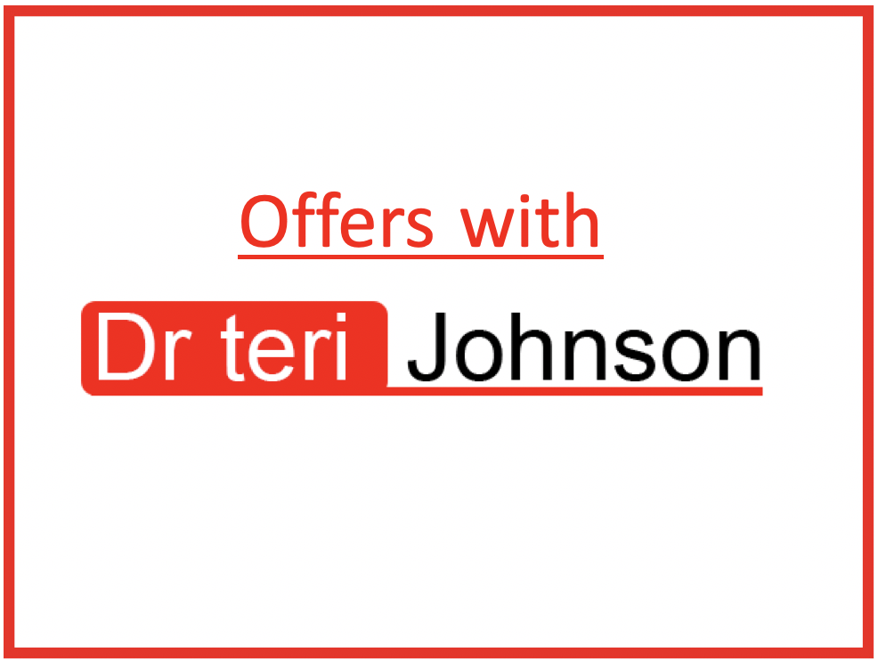 offers with Dr Teri Johnson