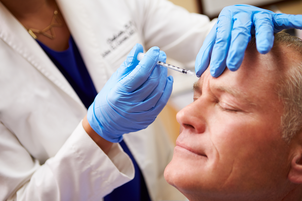 Botox treatment man in Cheshire
